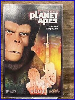 12 Conquest of the Planet of the Apes Caesar figure 1/6 Sideshow