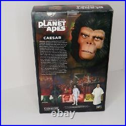 12 Conquest of the Planet of the Apes Caesar figure 1/6 Sideshow MIB