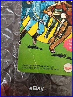1967 Ahi Planet Of The Apes Sky Diving Parachutist Galen Mint On The Card