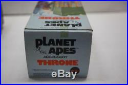 1967 MEGO PLANET OF THE APES POTA THRONE 100% COMPLETE With BOX