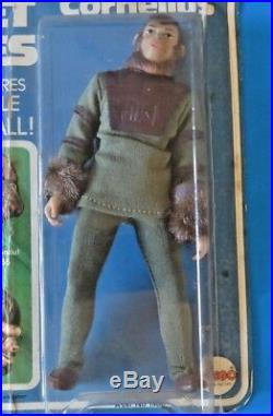 1967 MEGO Planet Of The Apes CORNELIUS 8 ACTION FIGURE SEALED NEW IN BOX