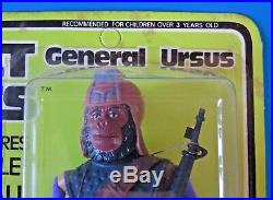 1967 MEGO Planet Of The Apes GENERAL URSUS 8 ACTION FIGURE UNPUNCHED NEW IN BOX