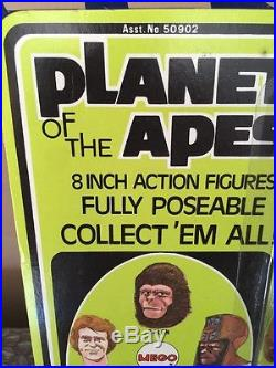 1967 Mego Planet Of The Apes General Ursus Mint On Unpunched Card