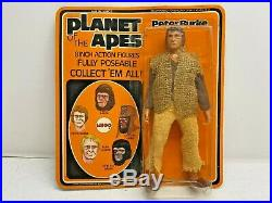 1967 Mego Planet Of The Apes Peter Burke 8 Figure Brand New