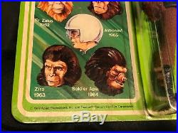 1967 Mego Planet Of The Apes Soldier Ape Figure 8 Sealed Package Unpunched Card