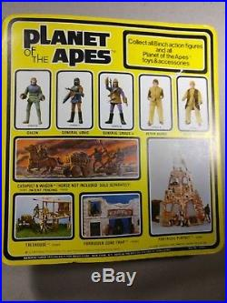 1967 Mego Planet of the Apes General Urko Unpunched Card