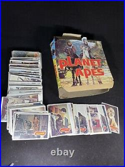 1967 PLANET OF THE APES VINTAGE 66 TRADING CARD SET With Box MADE BY TOPPS USA