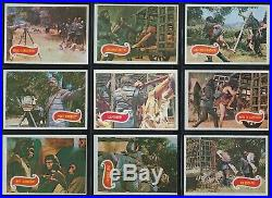 1967 TOPPS PLANET of the APES Complete 44 Card Set Green Backs Ex to NM