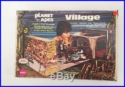 1967 Vintage Planet Of The Apes Giant 3 Foot Playset Headquarters By Mego