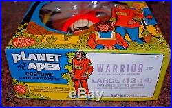 1968 Ben Cooper Planet Of The Apes Halloween Costume WARRIOR LARGE 12 14
