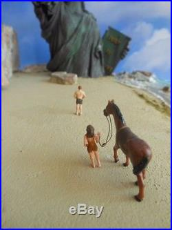 1968 Planet of the Apes Diorama Original & One Of A Kind