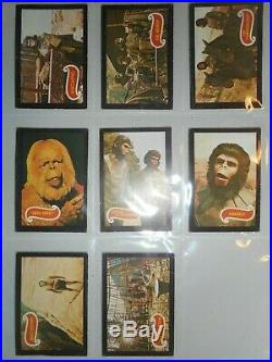 1969 Planet Of The Apes Complete(44) Card Set A&bc (rare England Version)