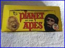 1969 Topps Green Back Planet Of The Apes Pota Empty Wax Pack Card Display Box #2