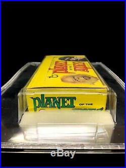 1969 Topps Planet of the Apes Wax Box Empty GAI 9 Mint Condition