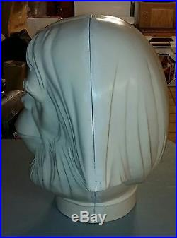 1970s Planet of the Apes Dr Zaius Helium Head Factory Blank