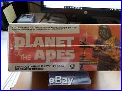 1973 Addar New Sealed Kit Planet Of The Apes General Aldo Vintage Rare # 104