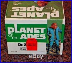 1973 Planet Of The Apes Dr. Zaius Rare NIB, Shrink is Tight Addar Model Kit