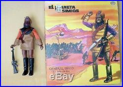 1974 Cipsa Planet Of The Apes General Urko In Repro Box Cipsa Mego Mexico
