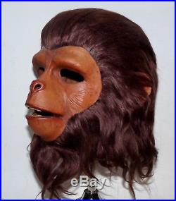 1974 Don Post Planet Of The Apes DR ZIRA Mask Unique NICE Monster Mask