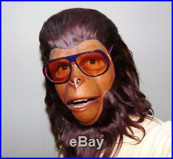 1974 Don Post Planet Of The Apes Mask DR ZIRA CORNELIUS Unique Monster Mask