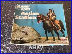 1974 MEGO Planet of the Apes Action Figure Stallion Horse & Remote Control Boxed