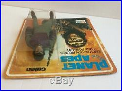 1974 Mego Palitoy Planet of the Apes metallic green haired variant Galen MOUC