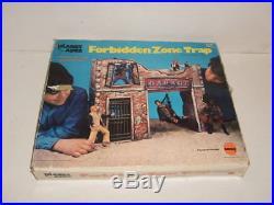 1974 Mego Planet of the Apes Forbidden Zone & Box NICE Original Figure Playset