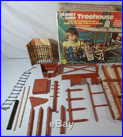 1974 Mego Vintage POTA Planet Of The Apes Treehouse Playset Near Complete with Box