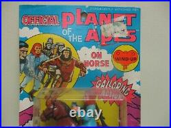 1974 PLANET OF THE APES Ahi GALLOPING DR. ZAIUS ON HORSE MOC AZRAK-HAMWAY INTL