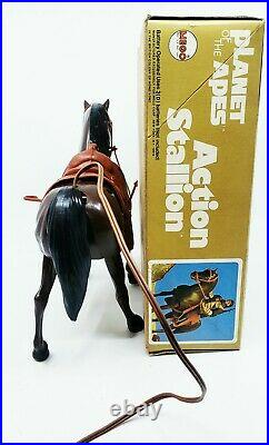 1974'PLANET OF THE APES MEGO BATTERY OP ACTION STALLION with BOX! WOW