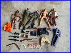1974 PLANET OF THE APES Orig. MEGO 8 INCH ACTION FIGURE & Accessory Lot Urko