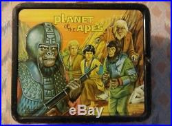 1974 PLANET OF THE APES Vintage Lunchbox. Super Nice
