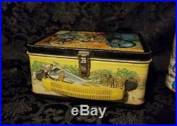 1974 Planet Of The Apes Aladdin Lunch Box with Thermos