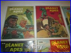 1974 Planet Of The Apes Coloring Book Set Of 6 C10 Mint Unused