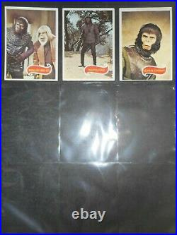 1974 Planet Of The Apes Complete(66) Card Set & Wrapper Topps