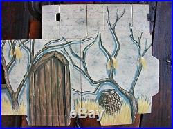 1974 Planet of the Apes Adventure Set UNPUNCHED Amsco Ape Headquarters Spaceship