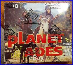 1974 Topps planet of the apes full mint box 36 mint packs and BBCE sealed