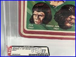 1974 Vintage Palitoy/ Bradgate Pota Zira 1st Issue Card Afa 70 (80/60/85) Moc