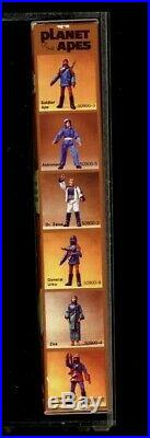 1974 mego Planet of the Apes Galen action figure boxed U. S. Acrylic Case holder