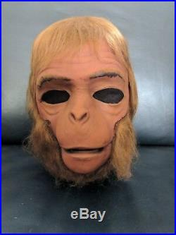 1975 Don Post Vintage POTA Dr Zaius Original Monster Mask Planet of the Apes