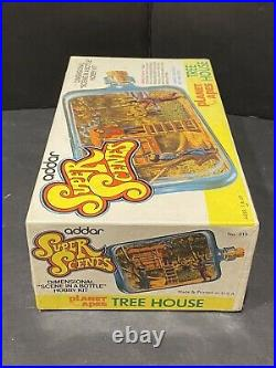 1975 Planet Of The Apes Addar Super Scenes Tree House Model Kit Sealed
