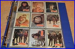 1975 Topps Planet Of The Apes Trading Card Set #1-66! Overall Nm! Must See