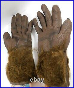 1980's Vintage Don Post Studios, Inc. WOLFMAN or Planet of the APES Hands