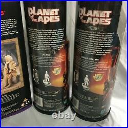 1990's Planet of the Apes 12 Figures Complete Lot (Zaius, CorneliusTaylor+4)NEW