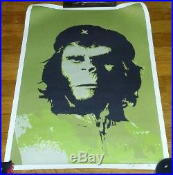 2000 Limited Edition Signed SSUR Planet of the Apes Rebel Che Guevara Poster