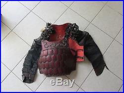 2001 Planet Of The Apes Chimp Warrior Chest Armor Set +coa