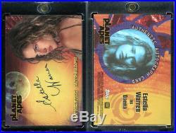 2001 Topps Planet Of The Apes Movie Estella Warren Daena Autograph Auto Card