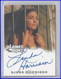 2004 Planet of the Apes Linda Harrison Nova Autograph Auto Card A2 Rittenhouse