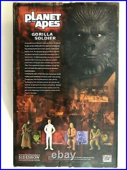 2004 Sideshow Collectibles Planet Of The Apes Gorilla Soldier 12 1/6 Figure Set