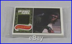 2005 Planet Of The Apes Behind The Scenes Card Set Harrison Auto Two Costumes